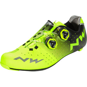 Northwave Revolution Sko Herrer, yellow fluo/black